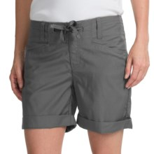 Icebreaker Destiny Shorts - Merino Wool Blend, UPF 50+ (For Women) in Monsoon - Closeouts