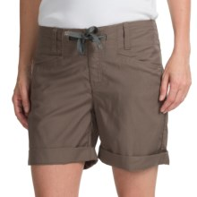 Icebreaker Destiny Shorts - Merino Wool Blend, UPF 50+ (For Women) in Trail Heather - Closeouts