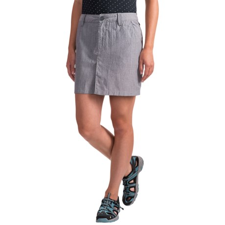 Icebreaker Destiny Skirt - UPF 50+, Merino Wool-Cotton (For Women) in Fathom Heather