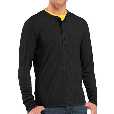 photo: Icebreaker Drifter Long Sleeve Henley