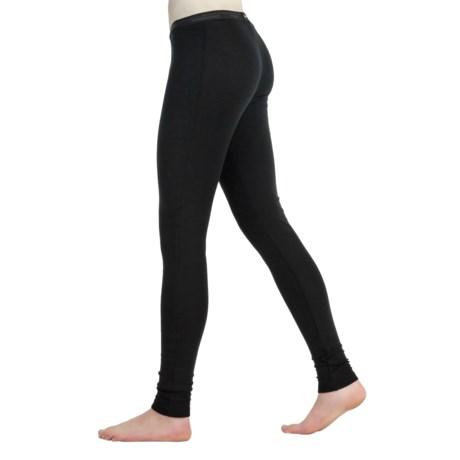 Icebreaker Everyday 200gm Thermal Base Layer Bottoms - UPF 50+, Lightweight, Merino Wool (For Women) in Black