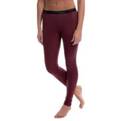 Icebreaker Everyday Base Layer Bottoms - Lightweight, UPF 20+, Merino Wool (For Women) in Sangria