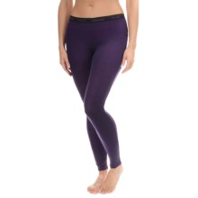Icebreaker Everyday Base Layer Bottoms - UPF 20+, Merino Wool (For Women) in Lotus - Closeouts