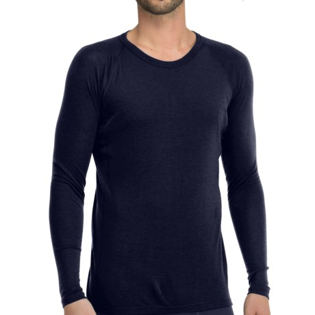 Icebreaker Everyday Base Layer Top - Crew Neck, Long Sleeve (For Men) in Admiral