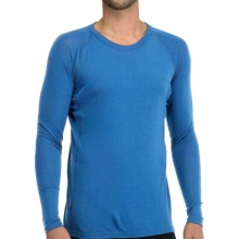 Icebreaker Everyday Base Layer Top - Crew Neck, Long Sleeve (For Men) in Cadet - Closeouts