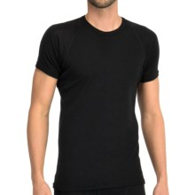Icebreaker Everyday Base Layer Top - Merino Wool, Short Sleeve (For Men) in Black - Closeouts