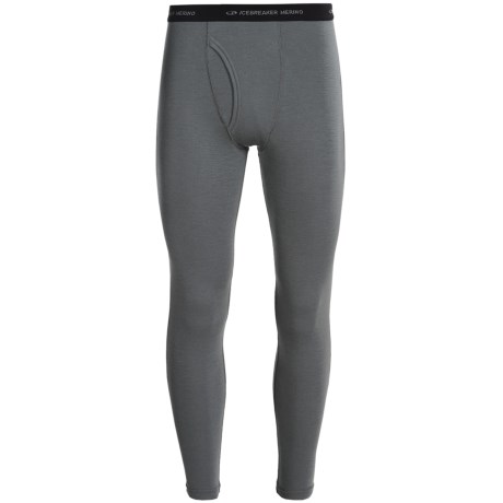Icebreaker Everyday Bodyfit 200 Base Layer Bottoms, Lightweight, Merino Wool (For Men) in Cave