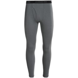 Icebreaker Everyday Bodyfit 200 Base Layer Bottoms - UPF 20+, Lightweight, Merino Wool (For Men) in Cave