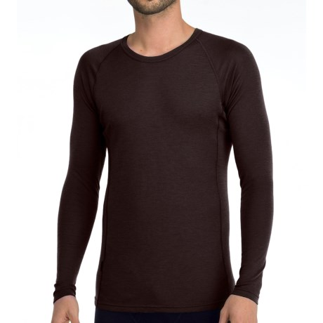 Icebreaker Everyday Bodyfit 200 Shirt - Lightweight, Merino Wool, Long Sleeve (For Men) in Walnut
