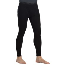 Icebreaker Everyday Thermal Underwear Base Layer Leggings - Merino Wool (For Men) in Black - Closeouts