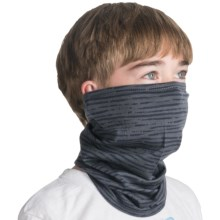Icebreaker Flexi Chute Neck Gaiter - Merino Wool (For Men and Women) in Splash/Pewter - Closeouts