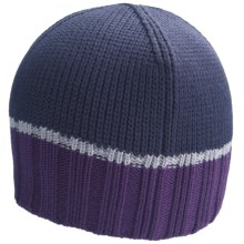 Icebreaker Frost Beanie Hat - Merino Wool (For Men and Women) in Divine/Merlot - Closeouts