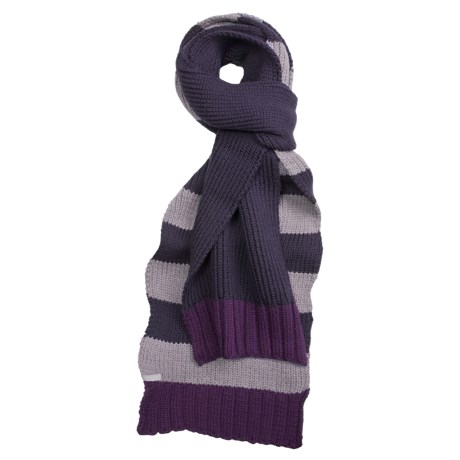 Icebreaker Frost Scarf - Merino Wool (For Men and Women) in Divine/Silk