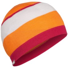 Icebreaker Glacier Hat - Merino Wool (For Men and Women) in Hat Mandarin/Cherub - Closeouts