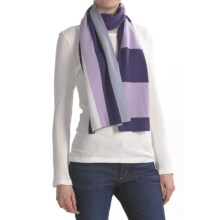Icebreaker Glacier Scarf - Merino Wool (For Women) in Horizon/Petunia - Closeouts