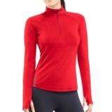Icebreaker GT 200 Pace Base Layer Top - Merino Wool, Zip Neck, Long Sleeve (For Women)