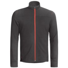 Icebreaker GT 260 Commute Cycling Jersey - Merino Wool, Long Sleeve (For Men) in Carbon - Closeouts