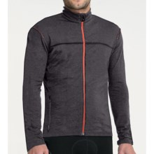 Icebreaker GT 260 Commute Cycling Jersey - Merino Wool, Long Sleeve (For Men) in Monsoon - Closeouts