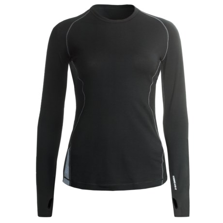 Icebreaker GT 260 Express Shirt - Merino Wool, Long Sleeve (For Women) in Black