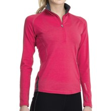 Icebreaker GT 260 Express Shirt - Merino Wool, Zip Neck, Long Sleeve (For Women) in Cherub - Closeouts