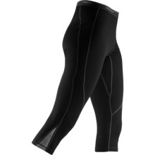 Icebreaker GT 260 Technical Base Layer 3/4 Leggings - Merino Wool (For Women) in Black - Closeouts