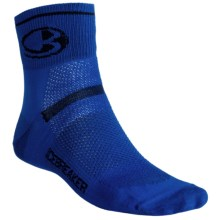 Icebreaker GT Multisport Superlite Mini Socks - Merino Wool, Quarter-Crew (For Men) in Royal/Ink/Royal - Closeouts