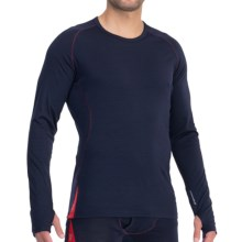 Icebreaker GT Relay Base Layer Top - Merino Wool, Long Sleeve (For Men) in Admiral - Closeouts