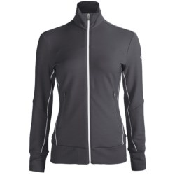 Icebreaker GT Run Swift Jacket - Merino Wool (For Women) in Panther