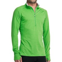 Icebreaker GT200 Sprint Zip Neck Base Layer Top - Lightweight, Merino Wool, Long Sleeve (For Men) in Turf - Closeouts
