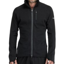 Icebreaker GT260 Quantum Hooded Shirt - Merino Wool (For Men) in Black - Closeouts
