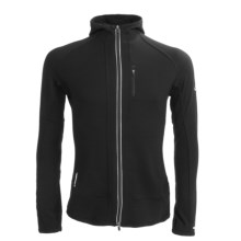 Icebreaker GT260 Quantum Hooded Shirt - Merino Wool, Full Zip, Long Sleeve (For Men) in Black - Closeouts
