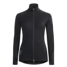 Icebreaker Gt260 Rapid Shirt - Merino Wool, Long Sleeve (For Women) in Black - Closeouts