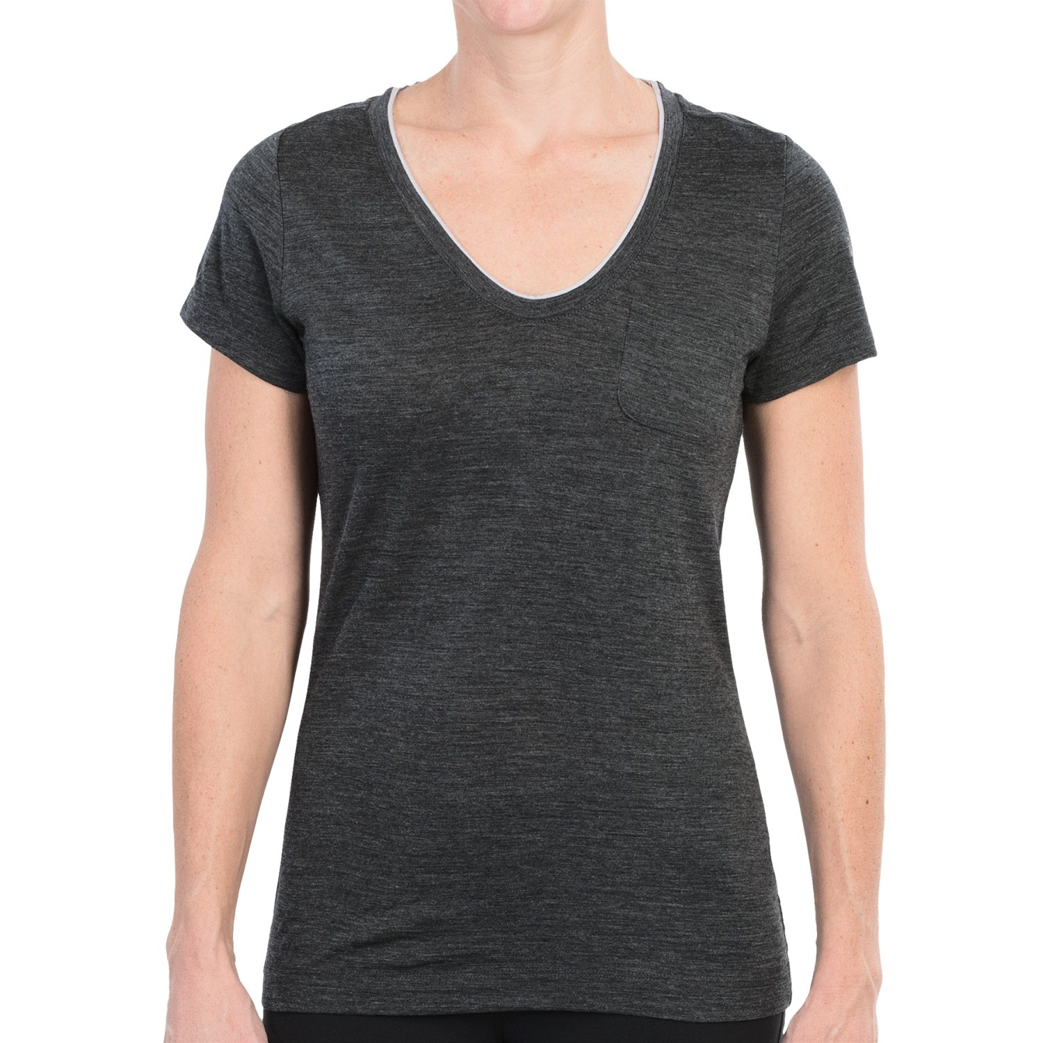 Icebreaker harmony t shirt merino wool upf 30 short for Merino wool shirts for travel