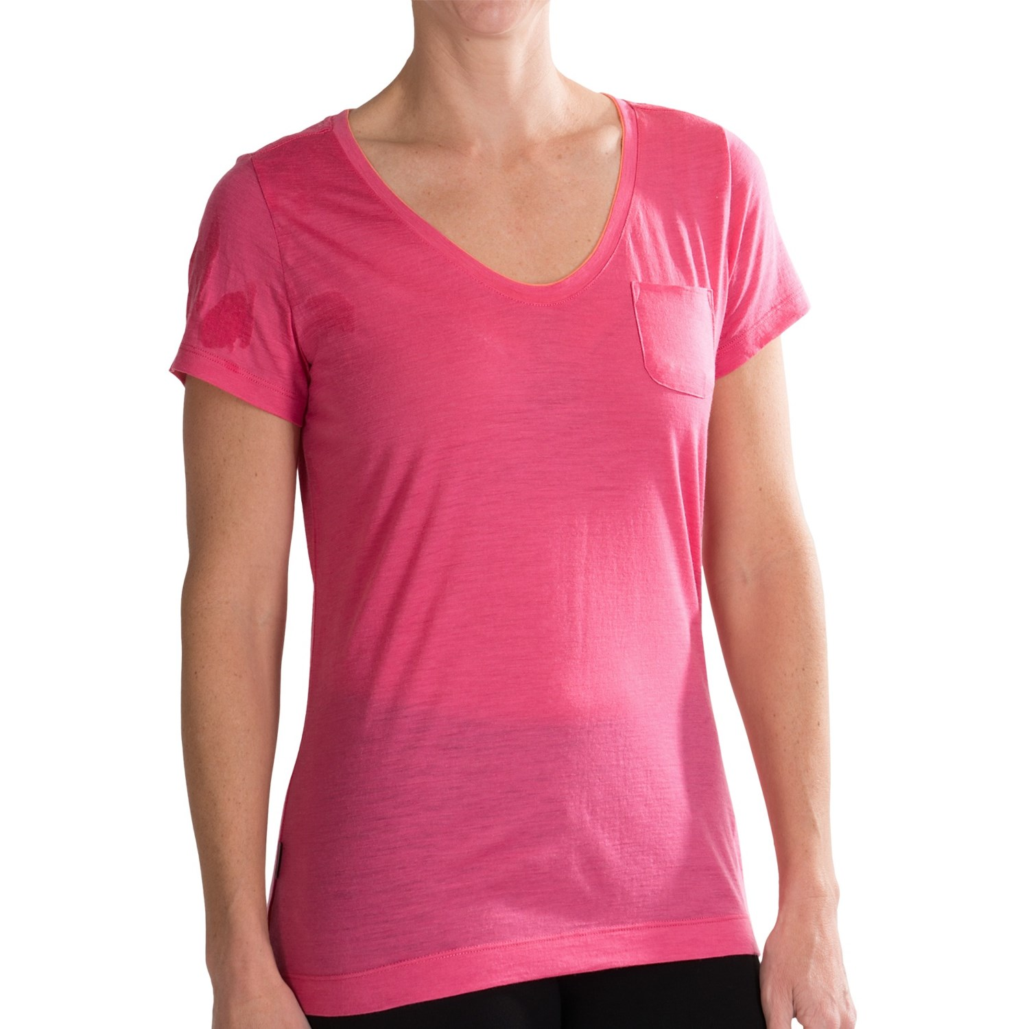 Icebreaker harmony t shirt for women save 37 for Merino wool shirts for travel