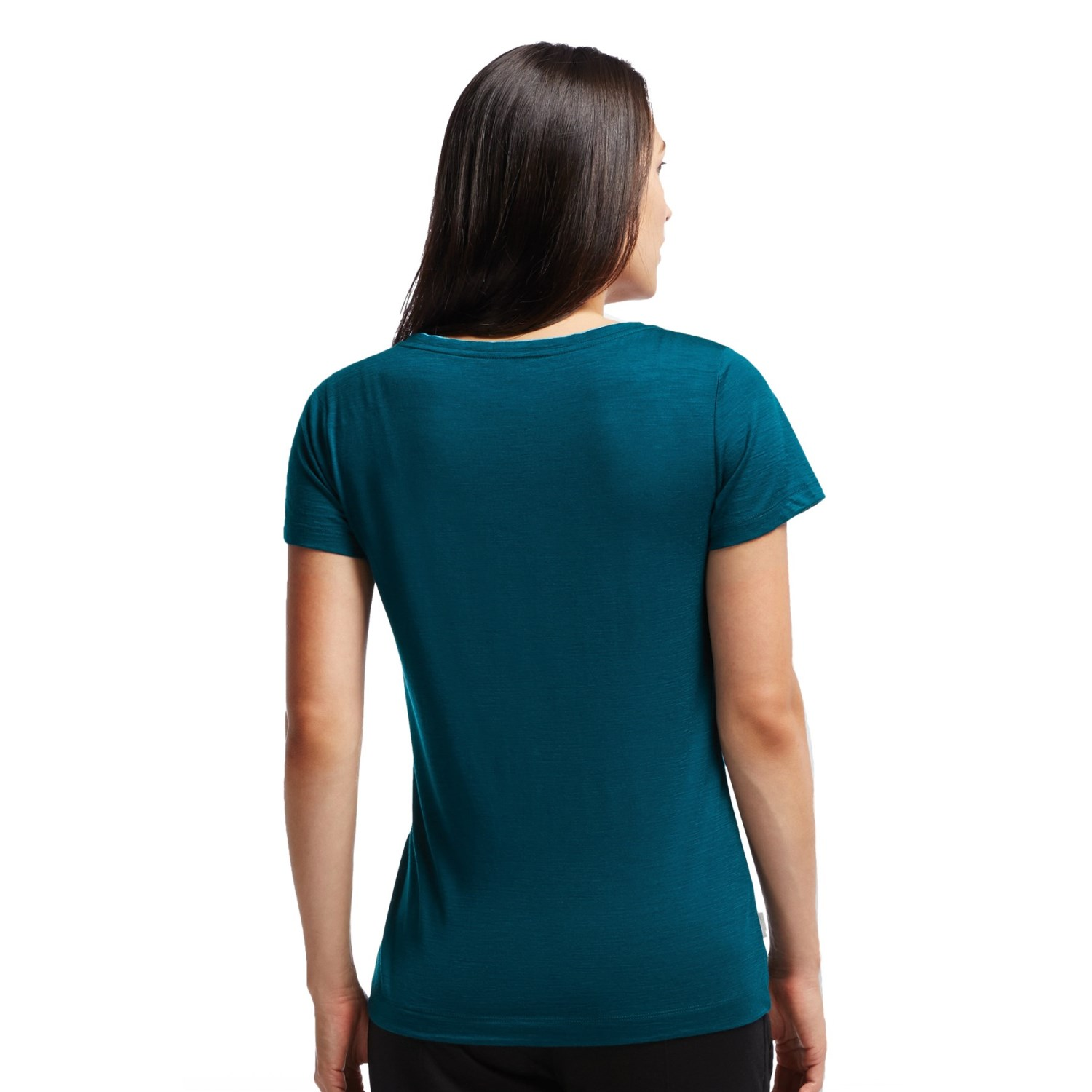 Icebreaker harmony t shirt for women 8090r save 65 for Merino wool shirt womens