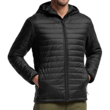 Icebreaker Helix MerinoLoft Hooded Jacket - Merino Wool, Insulated (For Men) in Black/Black/Black - Closeouts