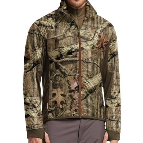 Icebreaker Helix Mossy Oak(R) Shirt Merino Wool, Full Zip, Long Sleeve (For Men)
