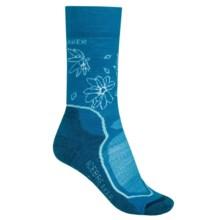 Icebreaker Hike + Lite Socks - Merino Wool, Crew (For Women) in Cruise/Teardrop/Largo - 2nds