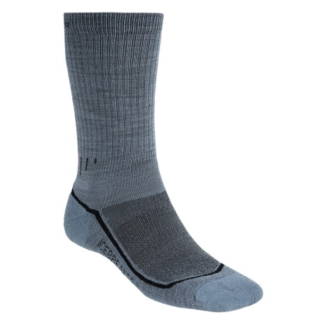 Icebreaker Hike Lite Socks - Merino Wool, Crew (For Men) in Ocean
