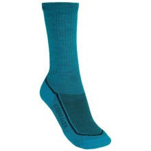 Icebreaker Hike Lite Socks - Merino Wool, Midweight, Crew (For Women) in Gulf - 2nds