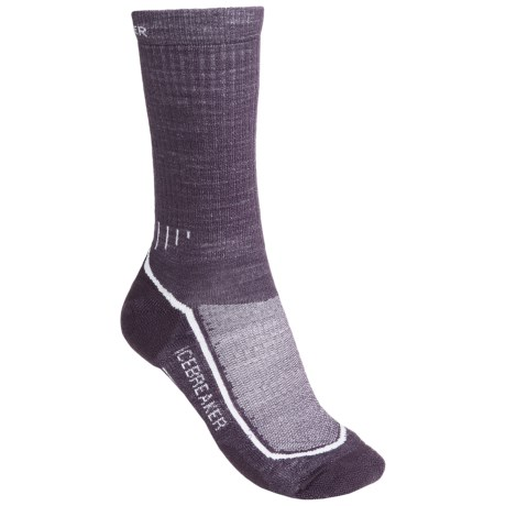 Icebreaker Hike Lite Socks - Merino Wool, Midweight, Crew (For Women) in Vintage