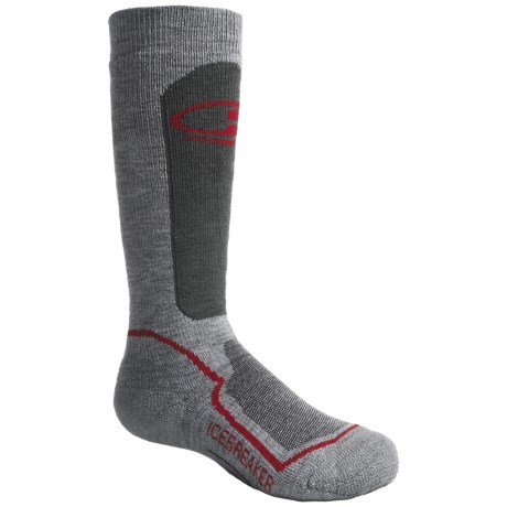 Icebreaker Hike Medium Cushion Socks - Merino Wool, Crew (For Kids)