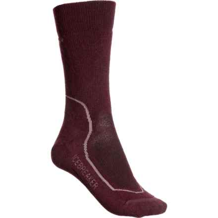 253d3ba7f3dd1 Icebreaker Hike+ Medium Socks - Merino Wool, Crew (For Women) in Velvet/