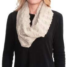 Icebreaker Iris Infinity Scarf - UPF 20+, Merino Wool (For Men and Women) in Fawn Heather - Closeouts