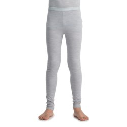 Icebreaker Junior Bodyfit 200 Leggings - Base Layer, Merino Wool (For Toddlers and Kids) in Blizzard