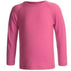 Icebreaker Junior Bodyfit 200 Oasis Base Layer Top - Merino Wool, L/S (For Toddler and Kids) in Splash
