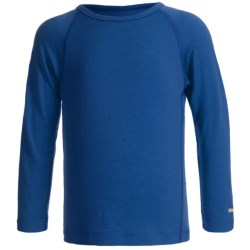 Icebreaker Junior Bodyfit 200 Oasis Base Layer Top - Merino Wool, L/S (For Toddler and Kids) in Bloom