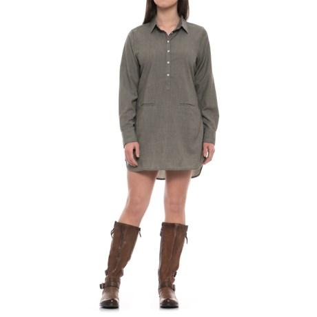 Icebreaker Kala Dress - Merino Wool, Long Sleeve (For Women)