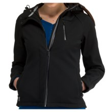 Icebreaker Kenai RF260 Hooded Jacket - UPF 50+, Merino Wool, Soft Shell (For Women) in Black - Closeouts