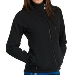 Icebreaker Kenai RF260 Jacket - Merino Wool, UPF 50+, Full Zip (For Women) in Black
